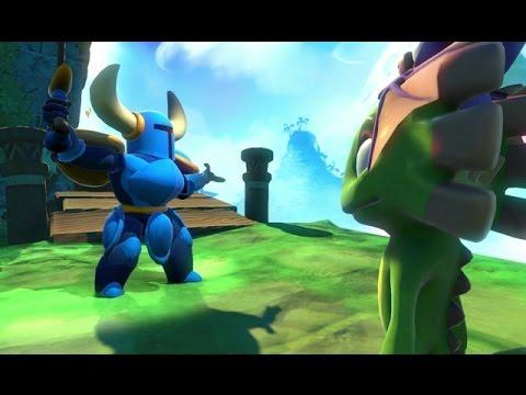 Yooka-Laylee - Part 4 [Retrieve the Giant Jewel for Shovel Knight] - PS4