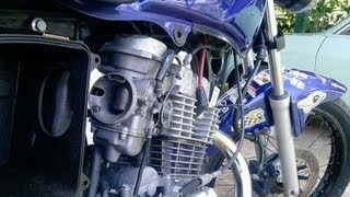 Cg 150 245cc com Carburador de Falcon 400cc