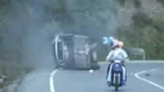 Accidente de Auto Y Muerte