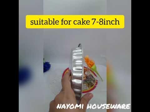 1 Piece Round Flower Shape Aluminium Baking Tray/Acuan Kuih For Bakeware.