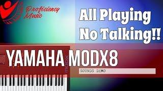 Yamaha MODX8: Sounds Demo (All Playing, No Talking)