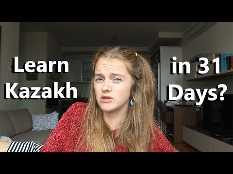 Learning Kazakh in 31 days