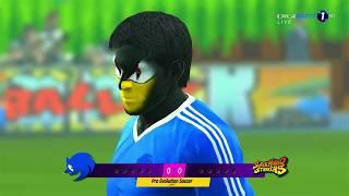 Team Sonic vs. Mario Strikers Penalty-Shootout | PES 2013 Anime vs. World Patch