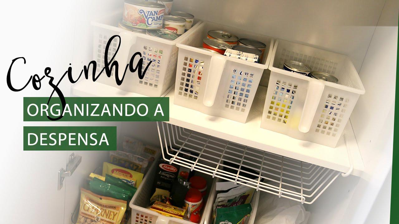 Como organizar a despensa da cozinha la vida youtube - Armarios para despensa ...