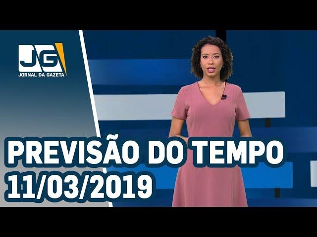 Previsão do Tempo - 11/03/2019