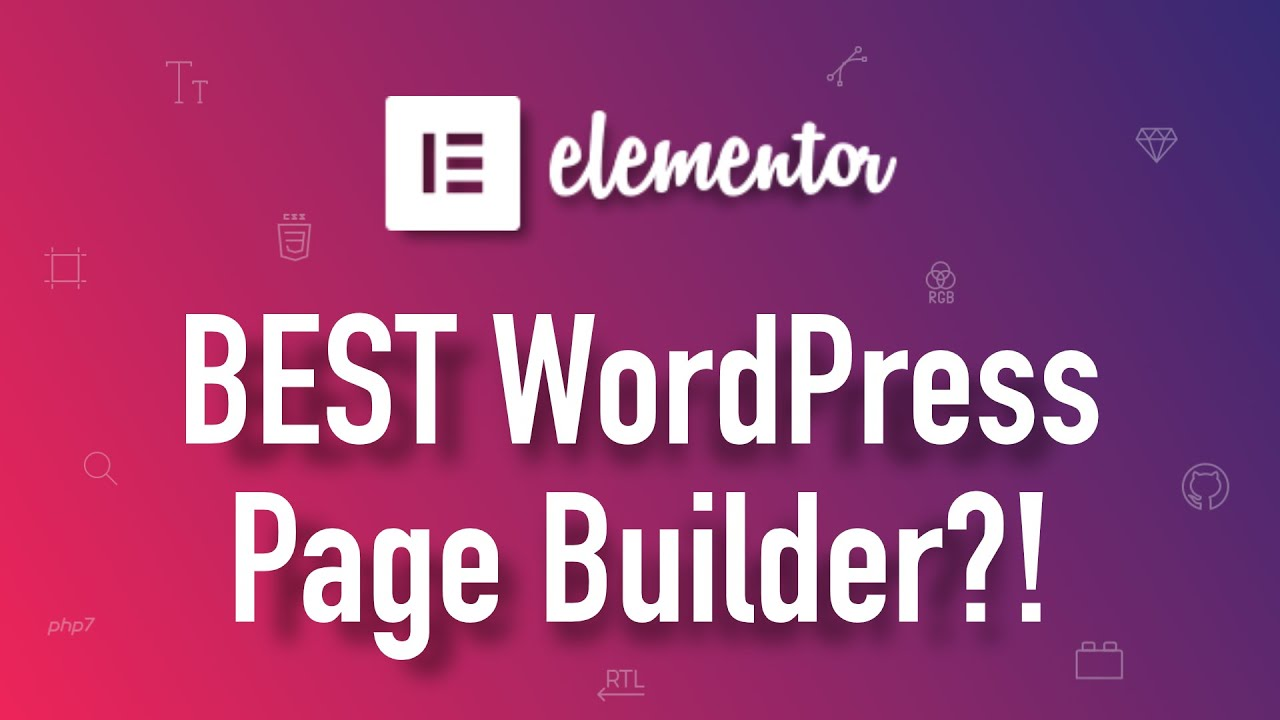 elementor review free wordpress page builder youtube