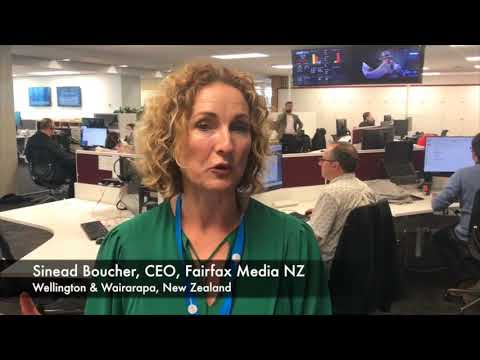 Fairfax Media New Zealand CEO Sinead Boucher discusses the importance of brand