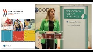 Global launch of OECD PISA Student Well-Being Report | Hosted by the Education Policy Institute thumbnail
