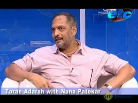 Taran Adarsh with Nana Patekar Part - 1