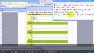 Le Huu Nhiem - Phần mềm trộn đề trắc nghiệm - Test Professional
