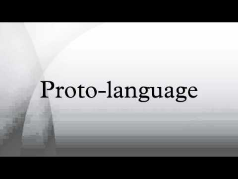 Proto-language