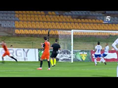 Nerijus Valskis brace vs Ashkelon 2017.01.25 (Israel State Cup 1/8 finals)