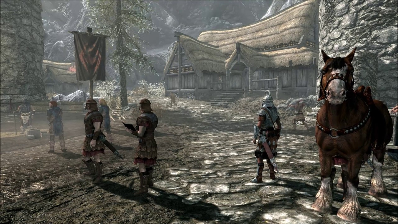Special Skyrim Frost Horse – HD Wallpapers