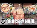 "MASSIVE TRADER JOE'S GROCERY HAUL | SHOPPING FOR NEW ITEMS AT TRADER JOE""S 
