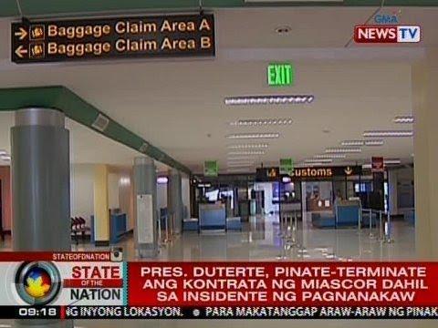 SONA: Pres. Duterte, pinate-terminate ang kontrata ng MIASCOR dahil raw sa pagnanakaw