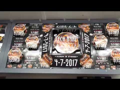 Tech N9ne Display For Independent Records Downtown Colorado Springs, CO