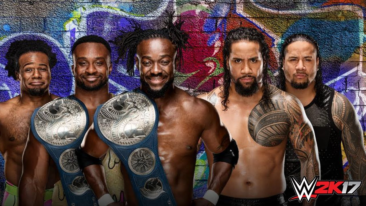 Wwe Summerslam 2017 The New Day Vs The Usos Youtube