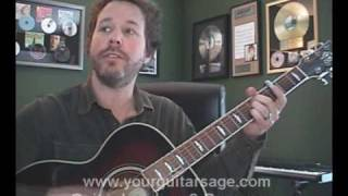 Guitar Lessons - Long December by Counting Crows - Beginners Acoustic songs lesson tutorial