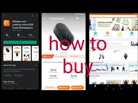 How To Buy Alibaba.com/Alibaba Apps Review/New Shopping Apps/Technical Ibrahim