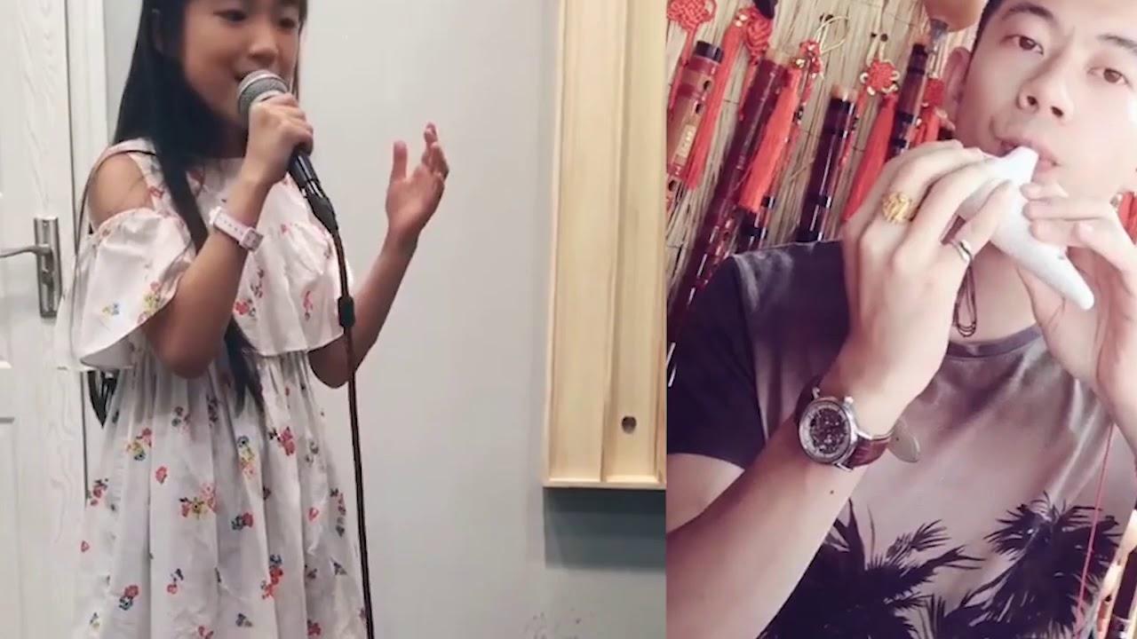 8岁小女孩柔美空灵的声音,完美诠释《天空之城》太配这首神曲了
