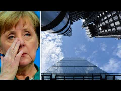 Merkel's Brexit BATTLE CRY I'll take UK banks and financial firms from City of London