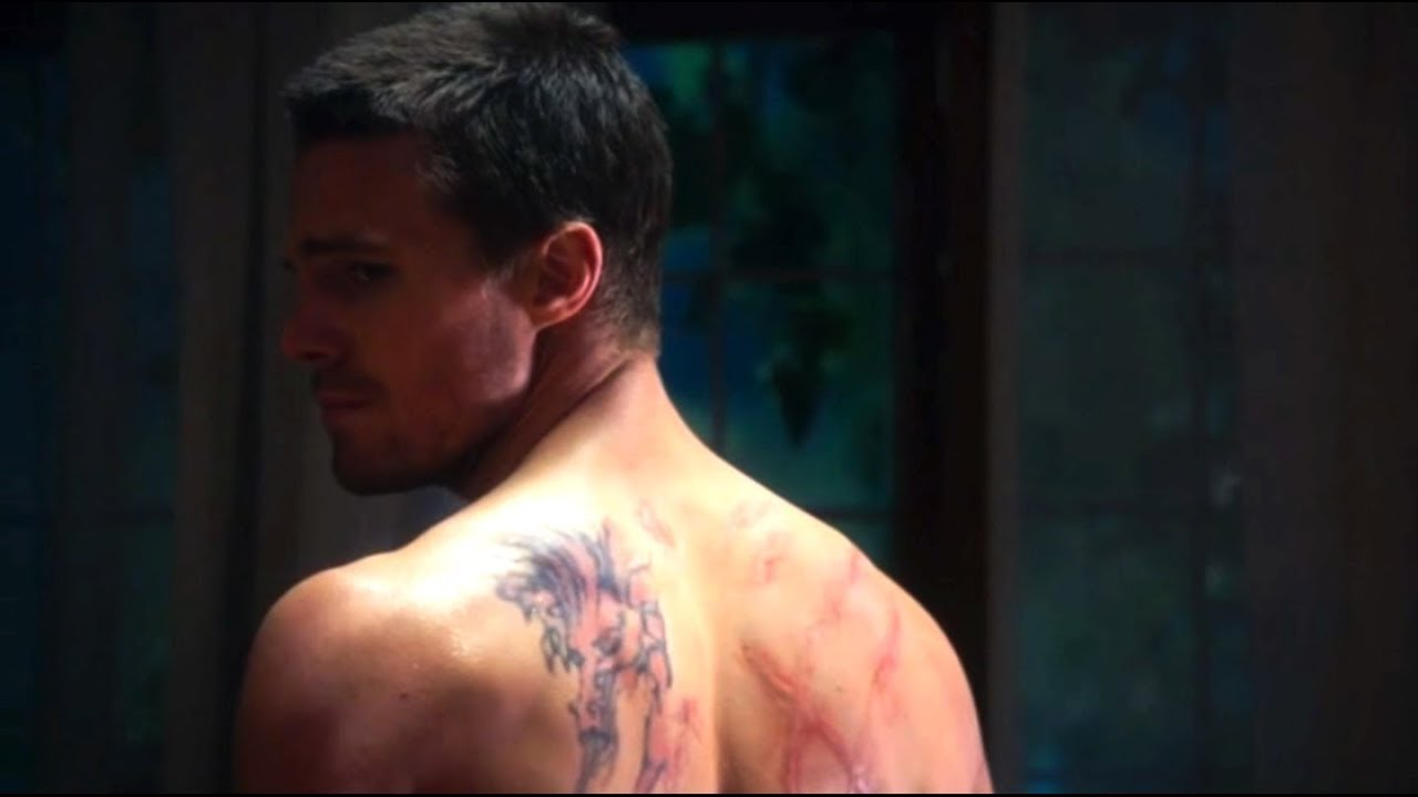 Oliver Queen Tattoo From Constantine: Battle Scars - YouTube