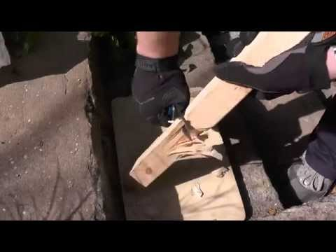 Рез по дереву: Spyderco Paramilitary 2 M390