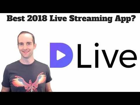 Best 2018 Live Streaming Platform For 2018? Stream On DLive + Earn Even With No Following!