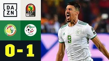 Unfassbares Tor sichert Algerien den Titel: Senegal - Algerien 0:1   Afrika Cup   DAZN Highlights