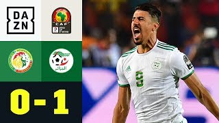 Unfassbares Tor sichert Algerien den Titel: Senegal - Algerien 0:1 | Afrika Cup | DAZN Highlights
