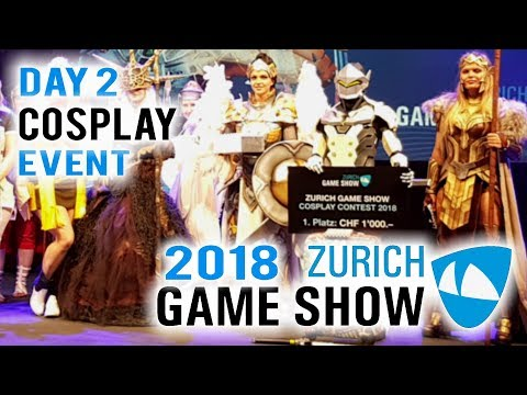Zürich Games Show 2018 Cosplay Event Day 2