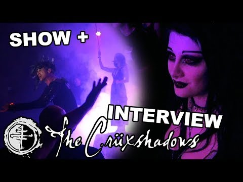The Crüxshadows Concert and Interview! | Black Friday