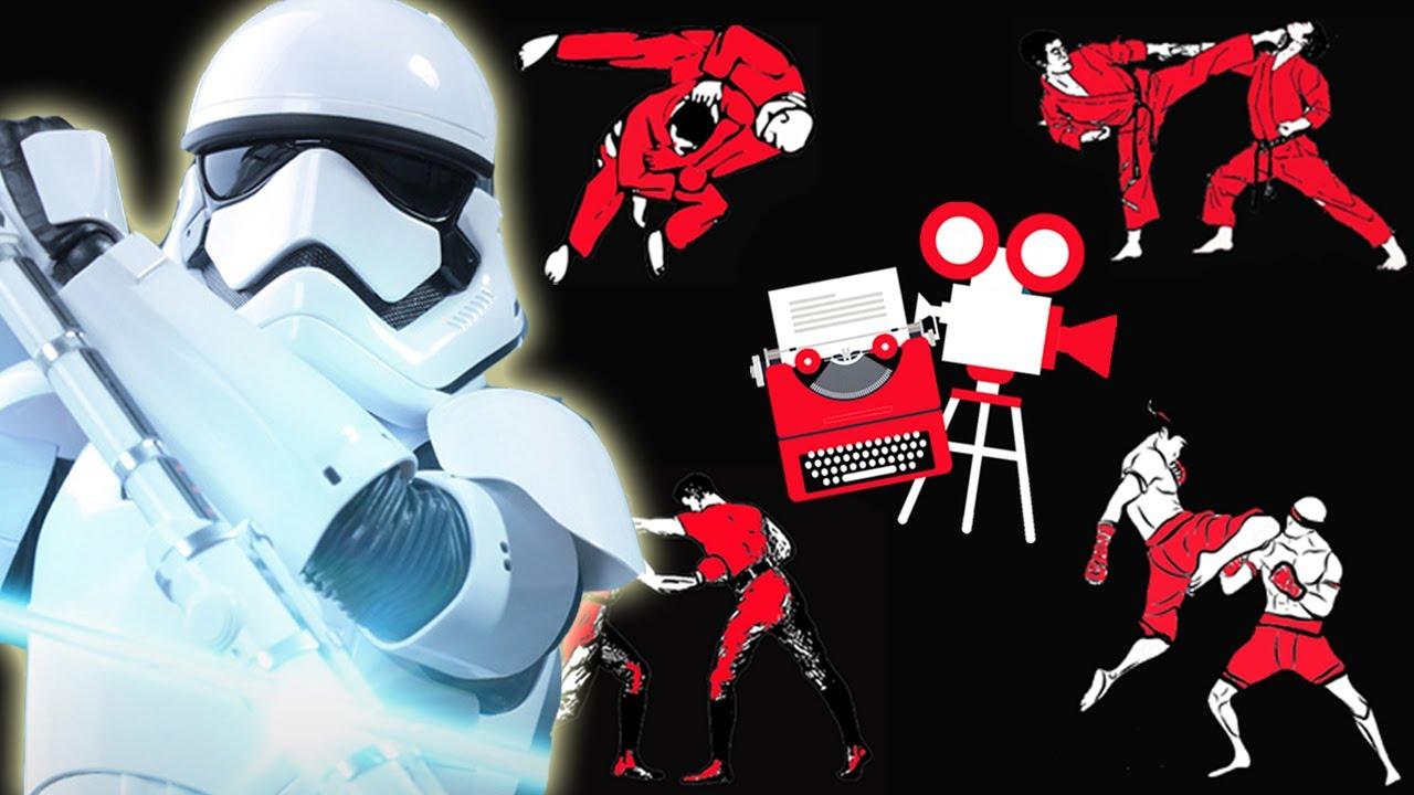 Star Wars The Force Awakens Finn Vs Stormtrooper Tr 8r