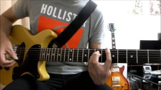 Green Day Stop When The Red Lights Flash Guitar Cover SOLO Howto play TAB