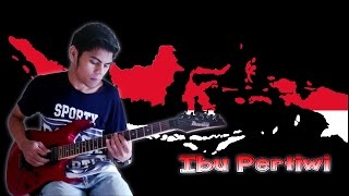 Lagu Ibu Pertiwi Versi Guitar Cover By Mr. JOM