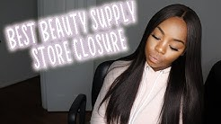 BEST BEAUTY SUPPLY STORE CLOSURE | Outre Velvet Remi Hair Demo