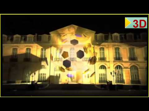 Adidas France   3D Mapping Projection-HD