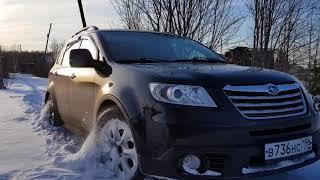 Subaru Tribeca (B9) по малому снегу (off road snow)