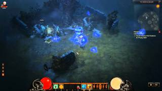 Diablo 3 Beta: The weeping hollow defiled grave