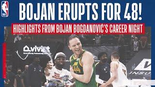 🎯 BOJAN BOGDANOVIĆ 48 POINT EXPLOSION 💥 | Highlights of Bojan's BIG night against Denver