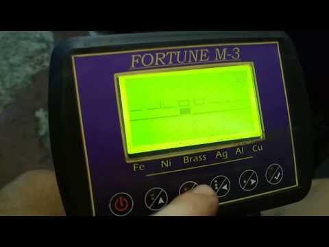 Как замаскировать металл на Фортуне М3 и прочие настройки металлоискателя