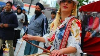 RANI TAJ - A Day with The International Dhol Player - Part 1