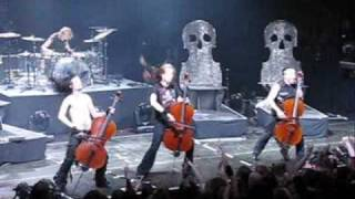 Apocalyptica - Enter Sandman (Live @ Brussels)