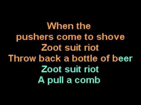 Zoot Suit Riot Cherry Poppin' Daddies Karaoke CustomKaraoke custom