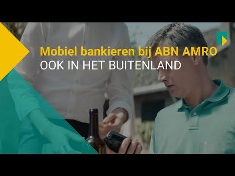 Altijd en overal je financiën doen met de Mobiel Bankieren app van ABN AMRO