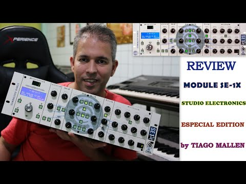 STUDIO ELECTRONICS - SE1X - (NOVA EDITION) by TIAGO MALLEN #minimoog #SE1X #studioelectronis