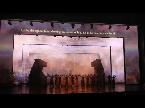 Dubai Park and Resorts Rajmahal theatre Jaan e jigar 1