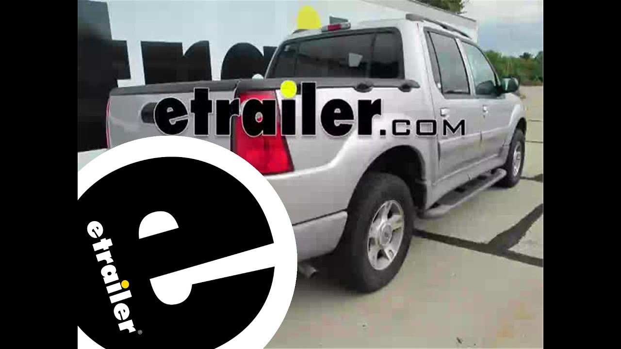 Installation of a trailer hitch on a 2003 ford explorer sport trac etrailer com