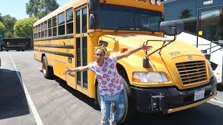 the time we rented a school bus day 915