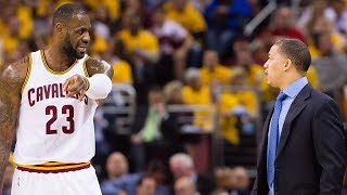 Tyronn Lue responsible for cavs & Lebron James losing to pacers 2-1!